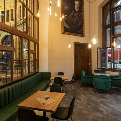 Stylová Fantova kavárna v Praze